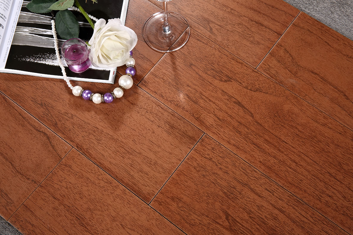 New Design Wood Floor Tiling