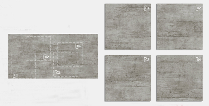 Grey Concrete Look Tiles Texture