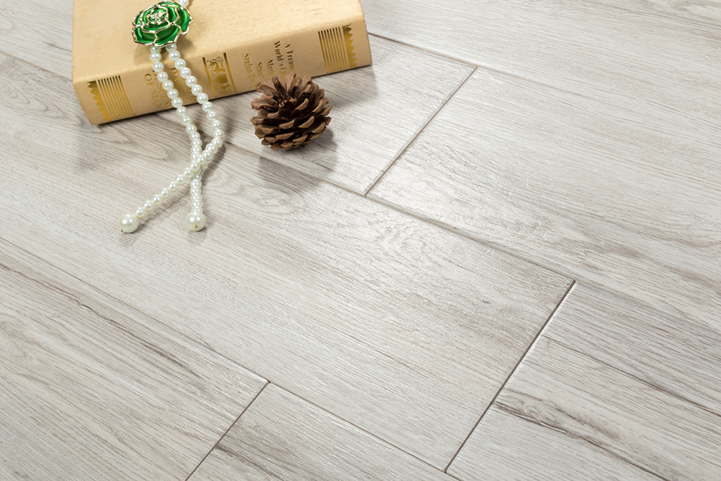 Light Grey Wood Like Tiles