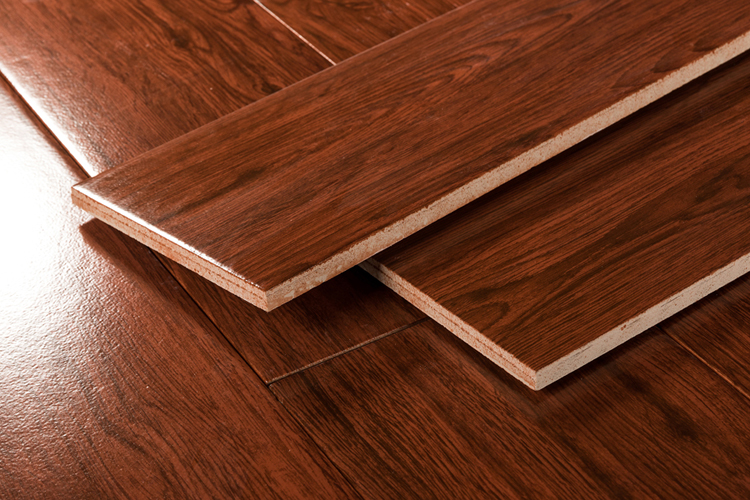 Customized Faux Wood Flooring