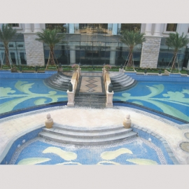 New Style Pool Mosaic Design