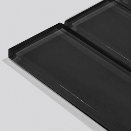 0.31inch Thickness Black Tile
