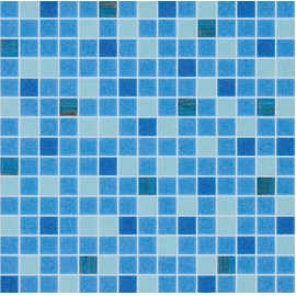 Swimming Pool Mosaic Blue Color