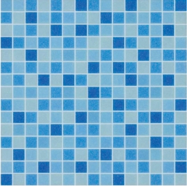 Blue Glass Mosaic for Pools
