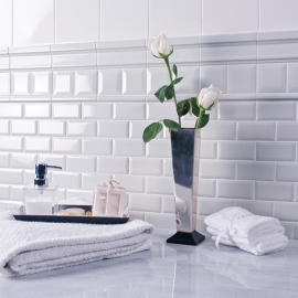 White Tiles for Interior Decoration