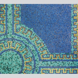 Pool Design Art Tile Mosaics