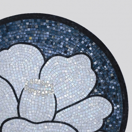 Tile of Glass Mosaic Wall Art