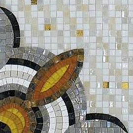 Latest Mosaic Wall Decor Glass Tile