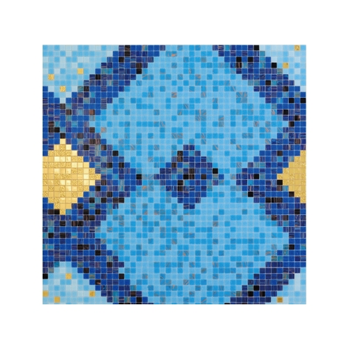 New Style Swimming Pool Pattern Glass Mosaics