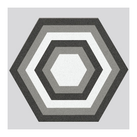 Three-dimensional Space Floor Tile