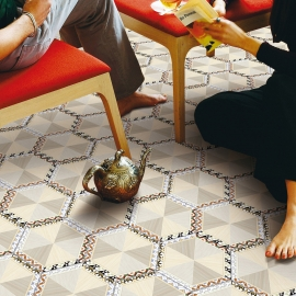 Lace Ceramic Floor Tiles
