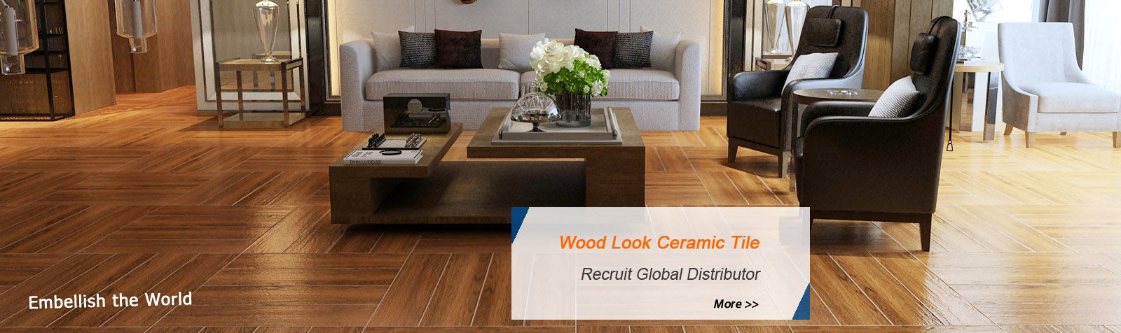 Wood Look Tile Recruit Global Distributor