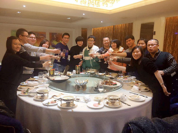 AA Tile 2015-Year End Banquet Feast