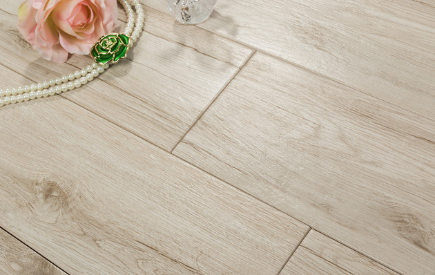 How About Change Your Floor to Wood Look Porcelain Tile?