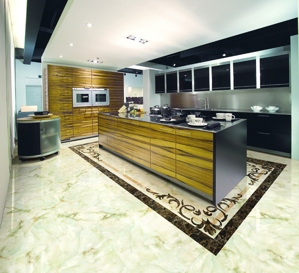 Compare between Natural Marble Tiles and Marble Look Porcelain Tiles