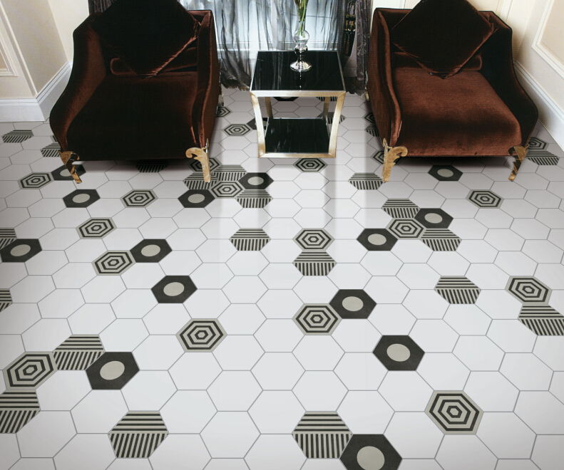 How to Install Hexagonal Tiles?